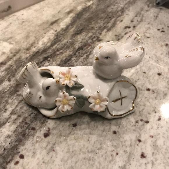 Porcelain Dove Figurine